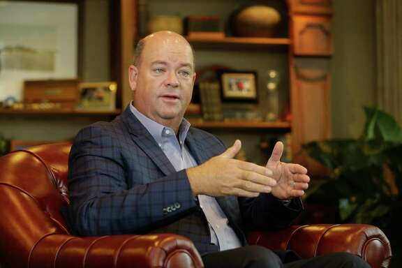 Ryan Lance, ConocoPhillips CEO. The company reported third quarter profits of $3.1 billion.