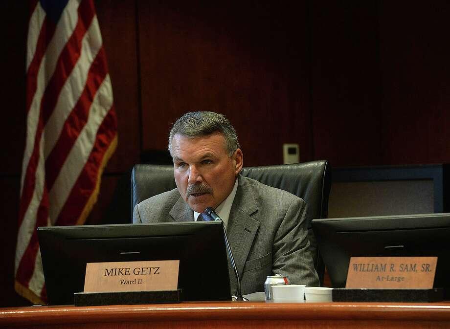 Councilman Mike Getz Photo taken Tuesday, January 15, 2019 Photo by Kim Brent/The Enterprise Photo: Kim Brent / The Enterprise / BEN