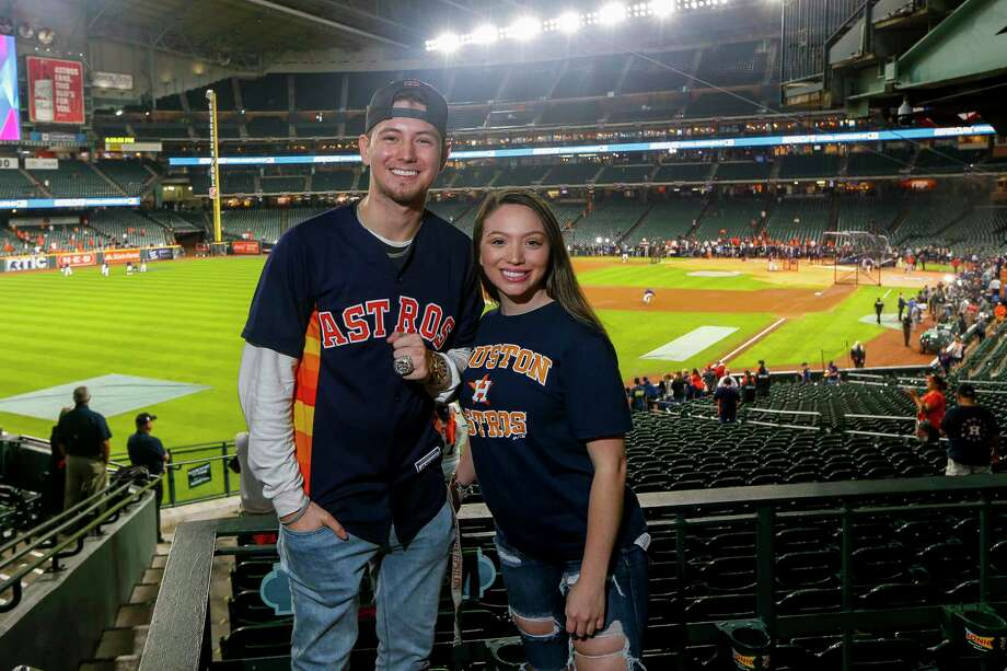 PHOTOS: A look at the Astros' workout on Monday at Minute Maid Park