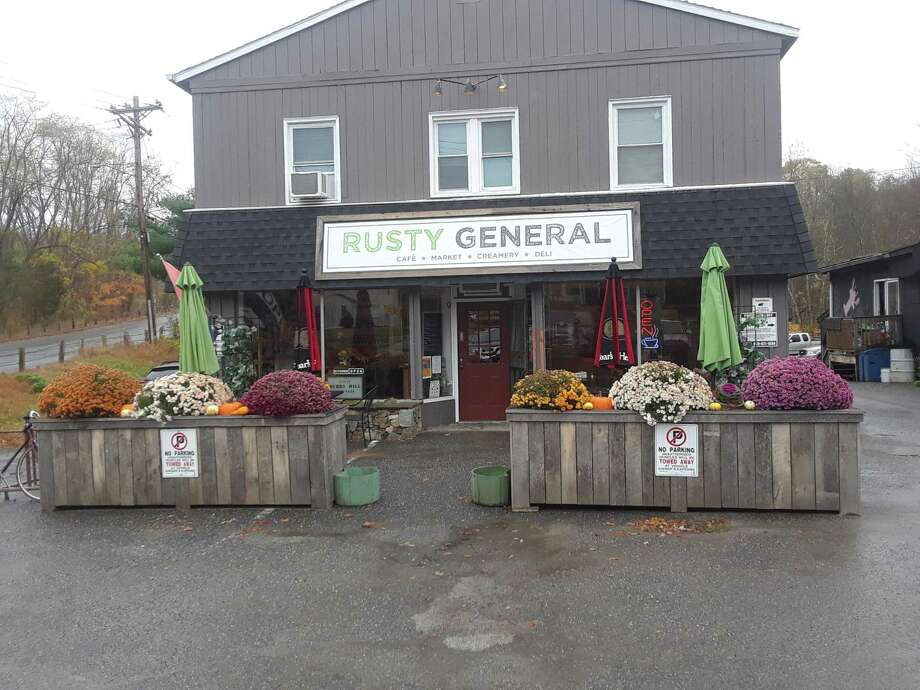 Anthony Cannavo, a Winsted native and proprietor of the Rusty Nail bar, opened the Rusty General store on Greenwoods Road in the Burrville section of Torrington this summer. Photo: Emily M. Olson / Hearst Connecticut Media /