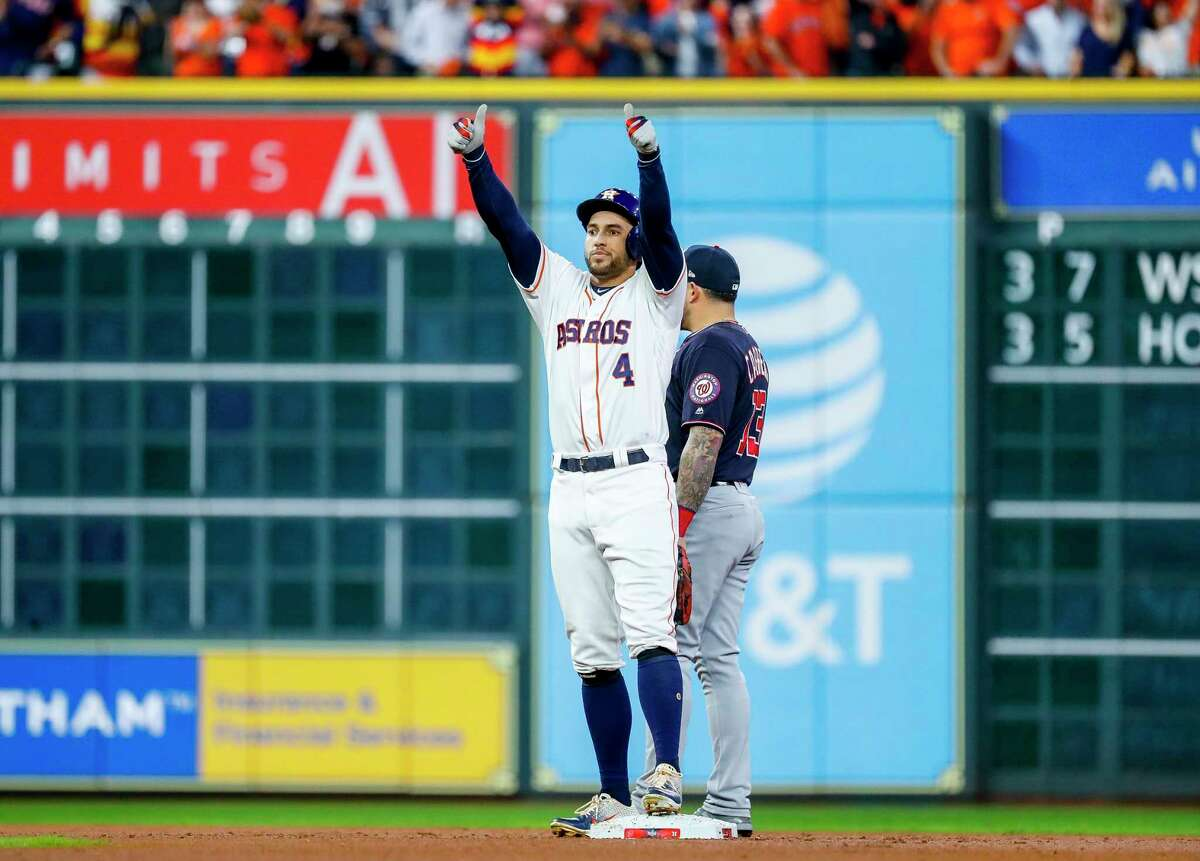 George Springer, OF, AstrosSpringer, who turns 31 in January, is coming off three straight All-Star seasons and 2019 was his best year yet, hitting a career-best .292 with 39 home runs and 96 RBIs.