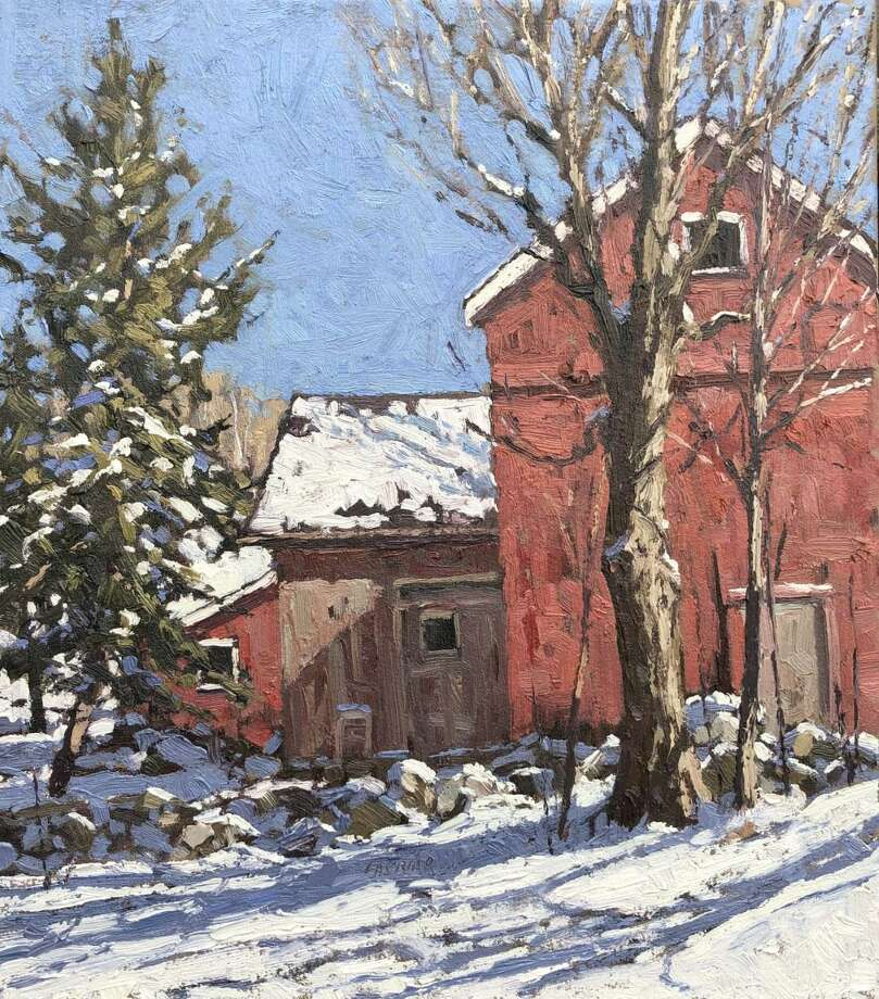 The Gregory James Gallery in New Milford will open an exhibit of more than 40 new and recent landscape paintings by Connecticut artist Jim Laurino with reception Oct. 26 from 5 to 7 p.m. A demonstration with the artist will be held Nov. 16 at 5 p.m., and the exhibit will remain on view through Dec. 8. A sample of Laurino's work is shown above. Photo: Courtesy Of Gregory James Gallery / The News-Times Contributed