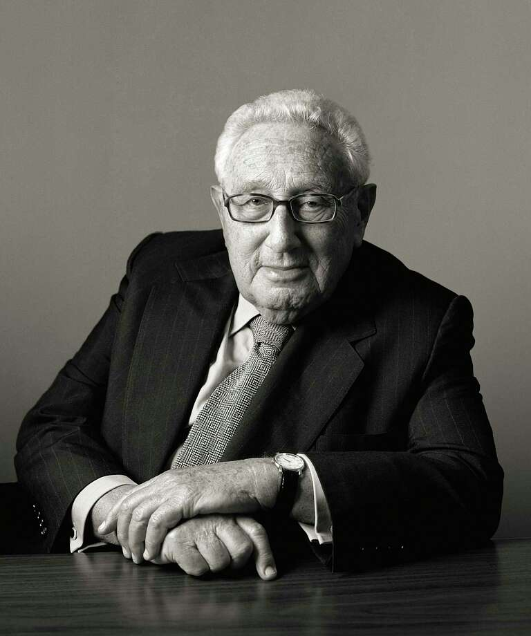 "Dr. Henry Kissinger, who was the 56th Secretary of State, will sign copies of the recently published book ""Kissinger on Kissinger: Reflections on Diplomacy, Grand Strategy, and Leadership"" Nov. 9 in Kent. Photo: JÃœRGEN FRANK Contributed Photo / Contributed Photo / © JÃœRGEN FRANK"