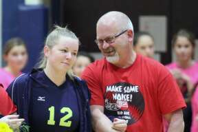 The USA Patriots secured a five-set win over Bad Axe on the road on Tuesday, Oct. 29.
