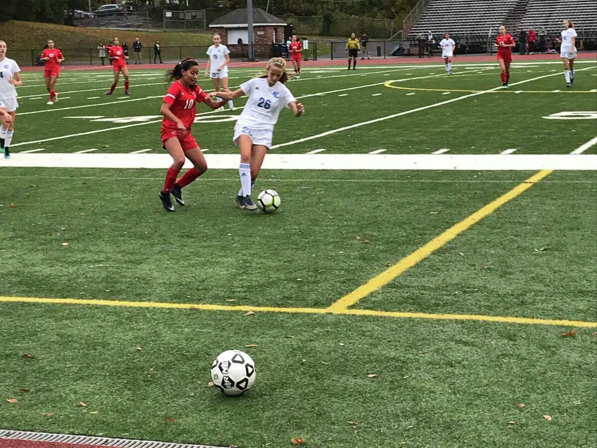 The Greenwich and Ludlowe girls soccer teams played to a scoreless tie on Tuesday.