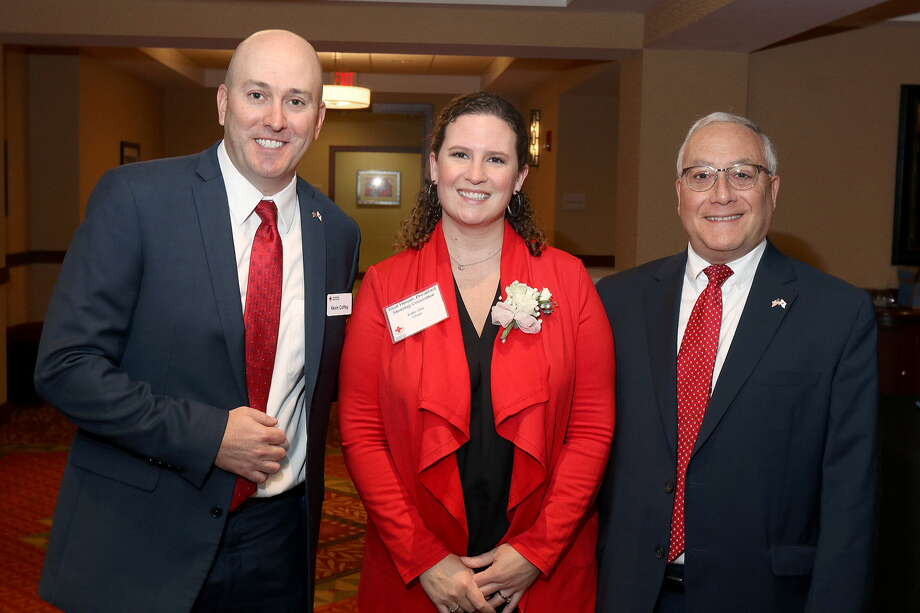 Were you Seen at The American Red Cross  Real Heroes Breakfast at The Hilton Garden Inn in Troy on Tuesday, Oct. 29,  2019? Photo: Joe Putrock/Special To The Times Union