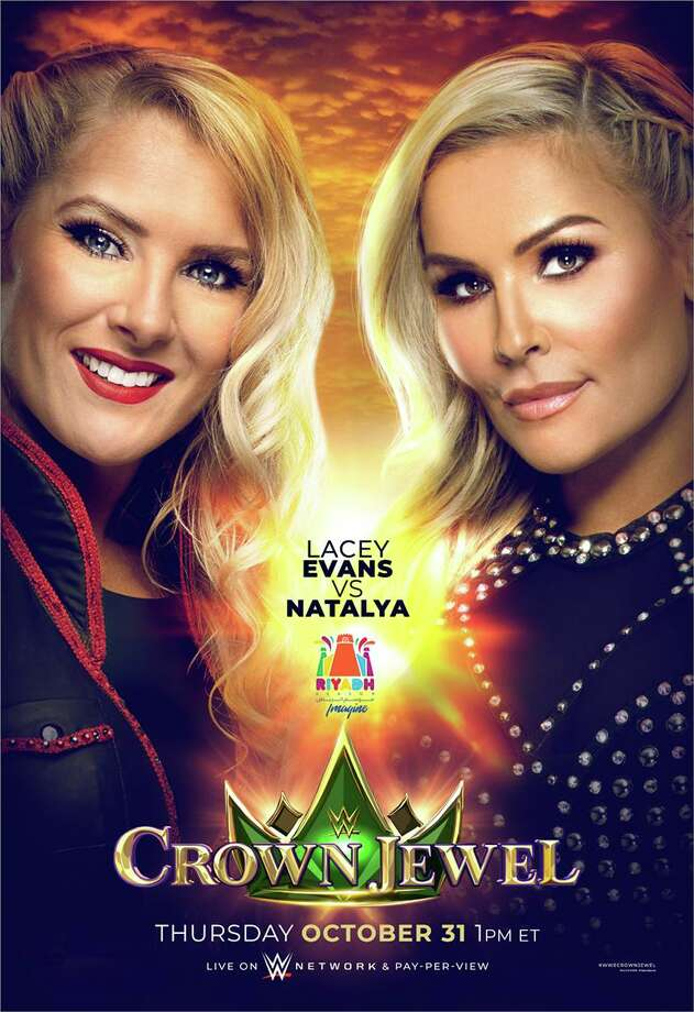 Superstars Lacey Evans and Natalya will perform in WWE's first women's match in Saudi Arabia, during the Crown Jewel show on Thursday, Oct. 31, 2019 in the Saudi capital Riyadh. Photo: Contributed Photo