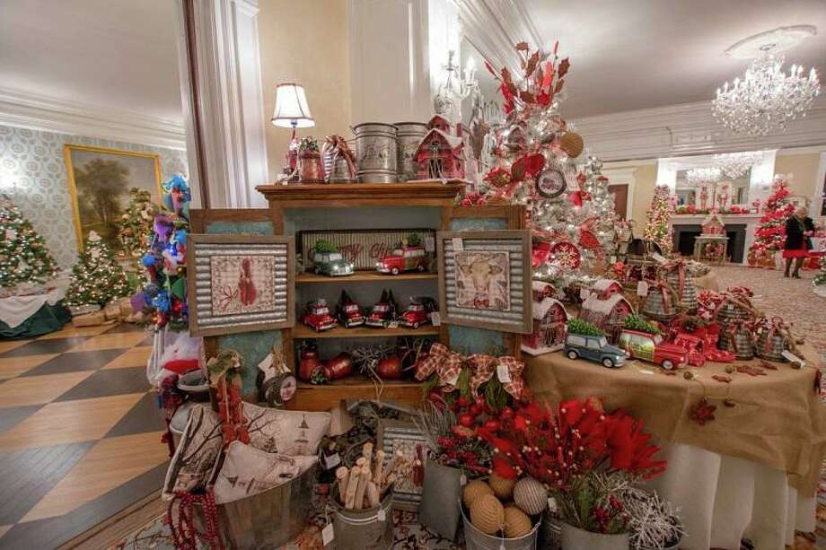 Lounsbury House will host a Champagne Preview Party for its 19th Biennial Holiday Tree Festival on Thursday, Nov. 14, beginning at 6:30 p.m. The festival runs from Nov. 15-17. Photo: Contributed Photos. /