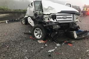 Two people were killed October 30, 2019 in an early-morning Orange County wreck.   Photo provided by Eric Williams