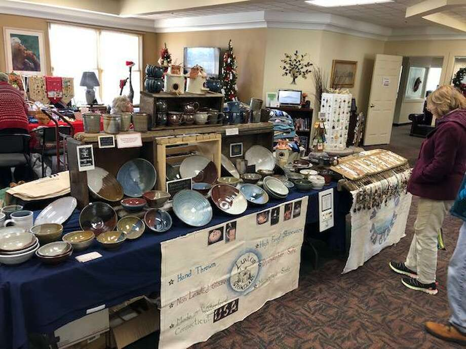 The Estuary Council's senior center, located at 220 Main St., is having its annual Holiday Craft Fair from 8 a.m.-1 p.m. on Nov. 23. Artisans and vendors displaying their handmade items, including artwork, quilts, pottery, photo cards, jewelry, baby items, ornaments and much more. Santa will make an appearance from 9-11 to visit with young and old. A light breakfast will be available as well. Photo: Contributed Photo