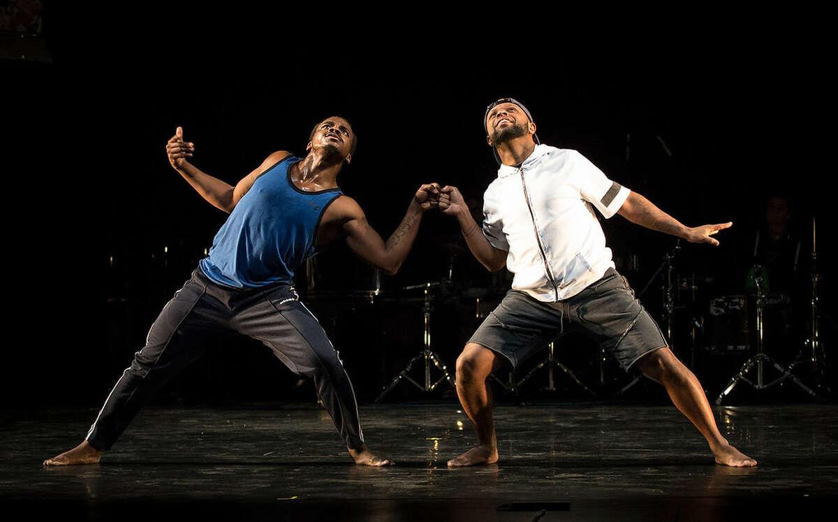Maleek Washington & Timothy Edwards - Photo #2 by Marina Levitskaya - Peak Performances at Montclair State University - ink-XL