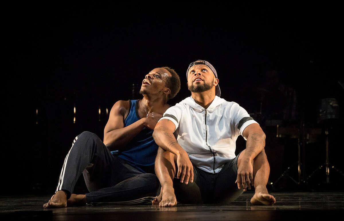 Maleek Washington & Timothy Edwards - Photo #1 by Marina Levitskaya - Peak Performances at Montclair State University - ink-XL