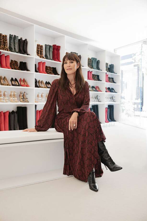 Tamara Mellon, the direct-to-consumer luxury brand, is taking their innovative retail concept on the road with the launch of the mobile TM Closet – the first ever traveling shoe closet. The TM Closet, a 24 ft. truck with floor-to-ceiling glass panels, will be at River Oaks District from October 31 – November 3. Photo: Tamara Mellon
