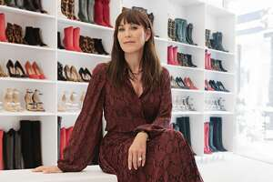 Tamara Mellon,   the direct-to-consumer luxury brand, is taking their innovative retail concept on the road with the launch of the mobile TM Closet – the first ever traveling shoe closet.     The TM Closet, a 24 ft. truck with floor-to-ceiling glass panels, will be at River Oaks District from October 31 – November 3.