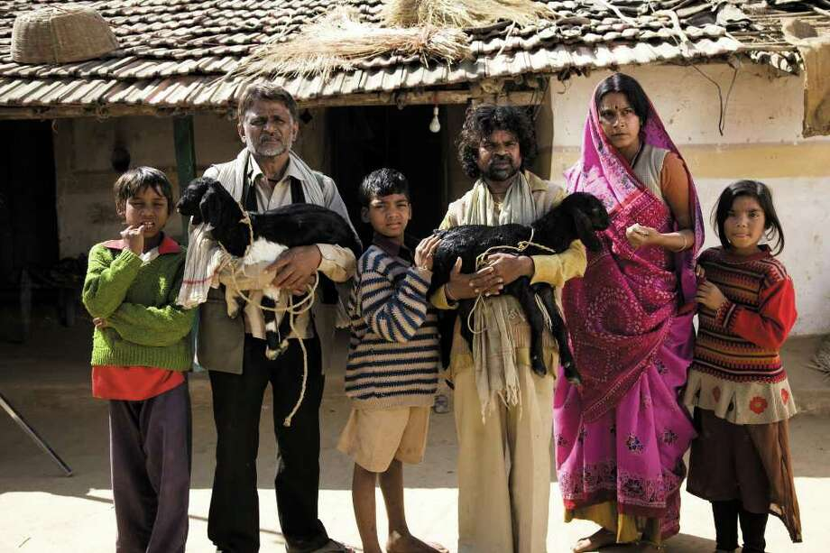 """The new Indian film """"Peepli Live"""" takes moviegoers into a small village that changes after a television show starts covering the news there. Photo: Contributed Photo / Connecticut Post"""