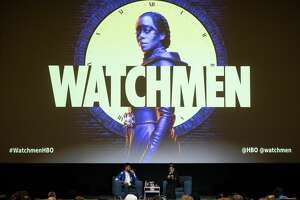 """SAN FRANCISCO, CA - OCTOBER 29: Tirhakah Love (L) and Regina King attend the San Francisco premiere of """"Watchmen"""" from HBO on October 29, 2019 in San Francisco, California. (Photo by FilmMagic/FilmMagic for HBO)"""