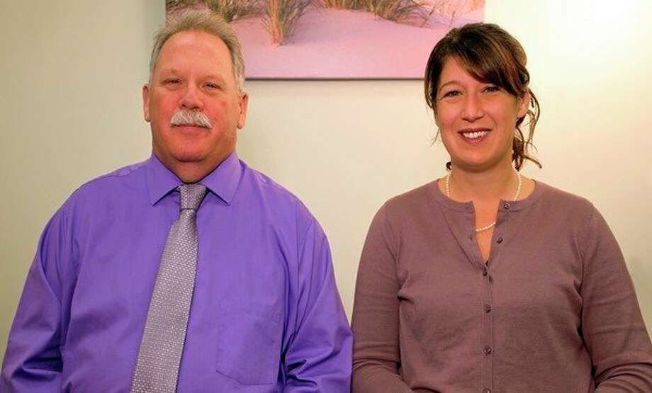 The Certified Public Accounting firm of Vanderwal, Spratto & Richards, P.C. will now be known as Richards & McDougall, P.C. Tthe name change reflects the current partnership of David Richards (left), C.P.A., A.B.V., and Krista McDougall (right), C.P.A. (Courtesy photo)
