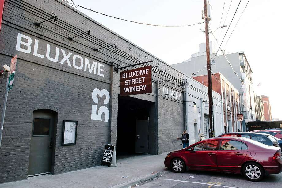 The Bluxome Street Winery will close the tasting room the last week of December. Photo: Michael Short / Special To The Chronicle