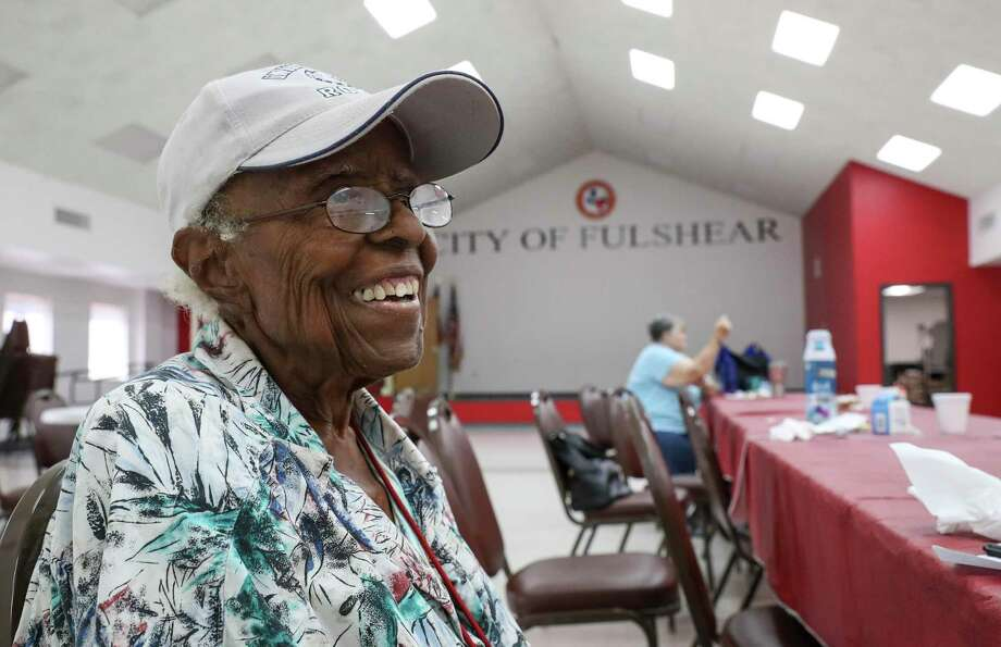 """""""I love Fulshear, I'm glad I didn't move. There was a lot of opportunity for me as a black woman,"""" said Viola Randle, former mayor of Fulshear, on Tuesday, Sept. 3, 2019, in Fulshear. Photo: Jon Shapley,  Staff Photographer / © 2019 Houston Chronicle"""