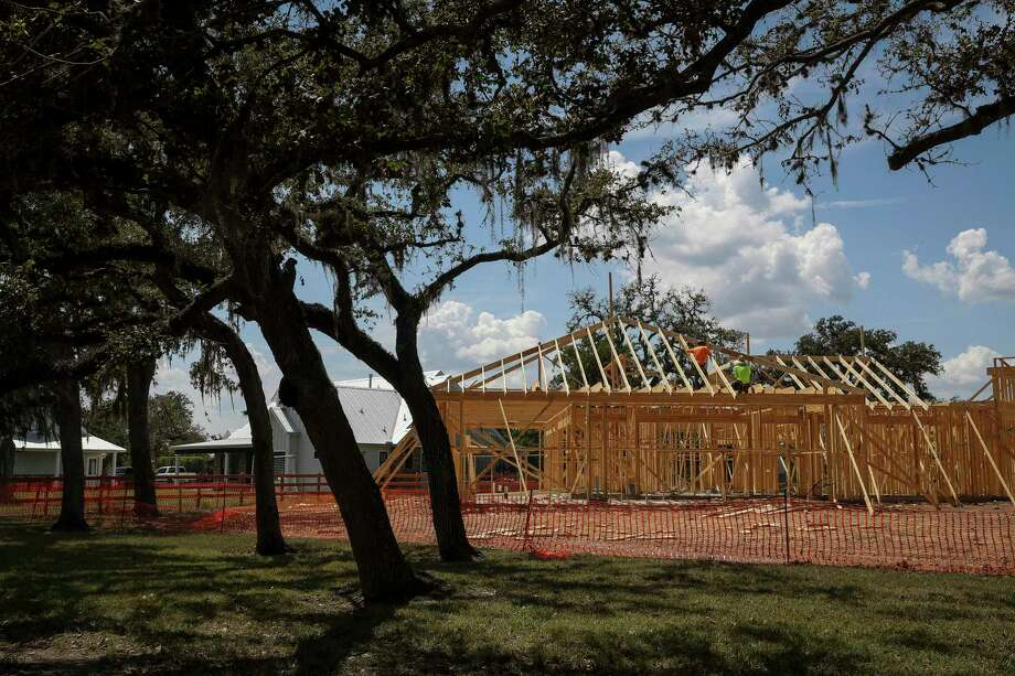 Home construction continues in the Fulshear Run neighborhood on Tuesday, Sept. 3, 2019, in Fulshear. Several homes and property nearby were listed for sale. NEXT: Affordable homes for sale near Houston's top elementary schools Photo: Jon Shapley,  Houston Chronicle / Staff Photographer / © 2019 Houston Chronicle