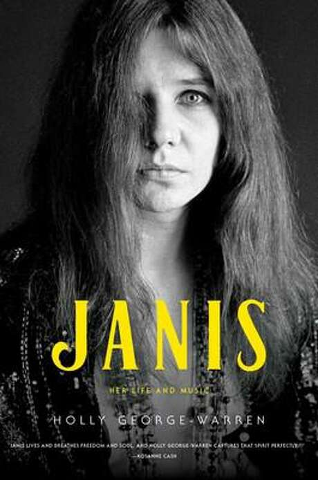 "Cover image for ""Janis,"" a Janis Joplin biography by Holly George-Warren"