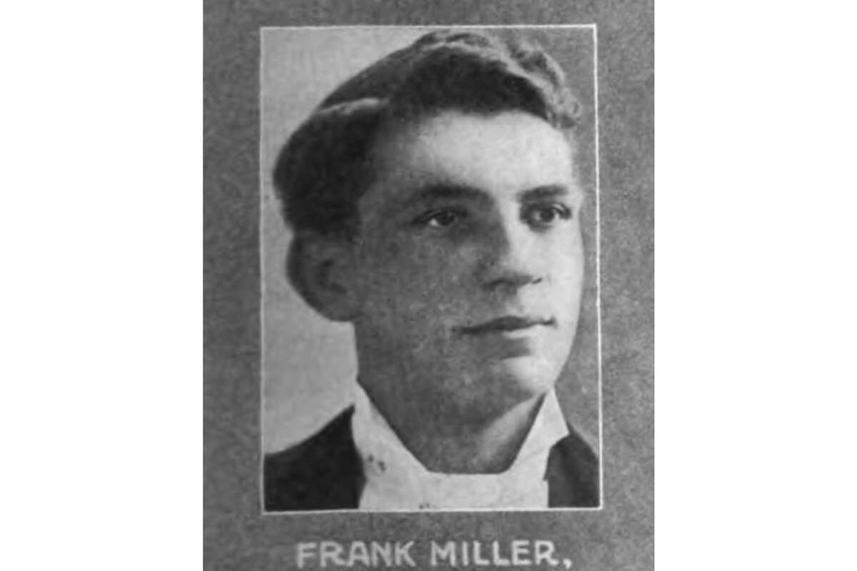 """A photograph of San Francisco butler Frank Miller from """"Celebrated Criminal Cases of America,"""" a 1910 crime book written by Thomas Samuel Duke."""