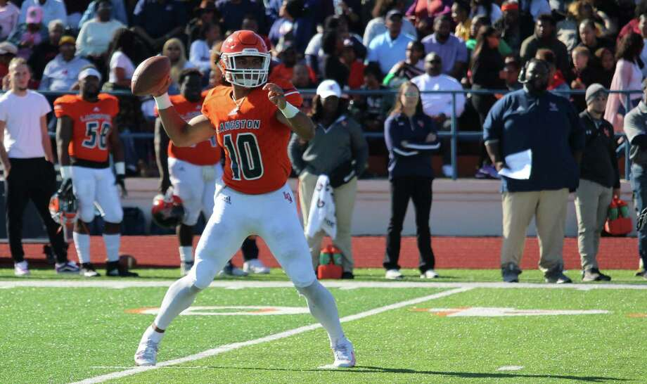 Langston University quarterback Jordan Cooper. Photo: Langston Athletics