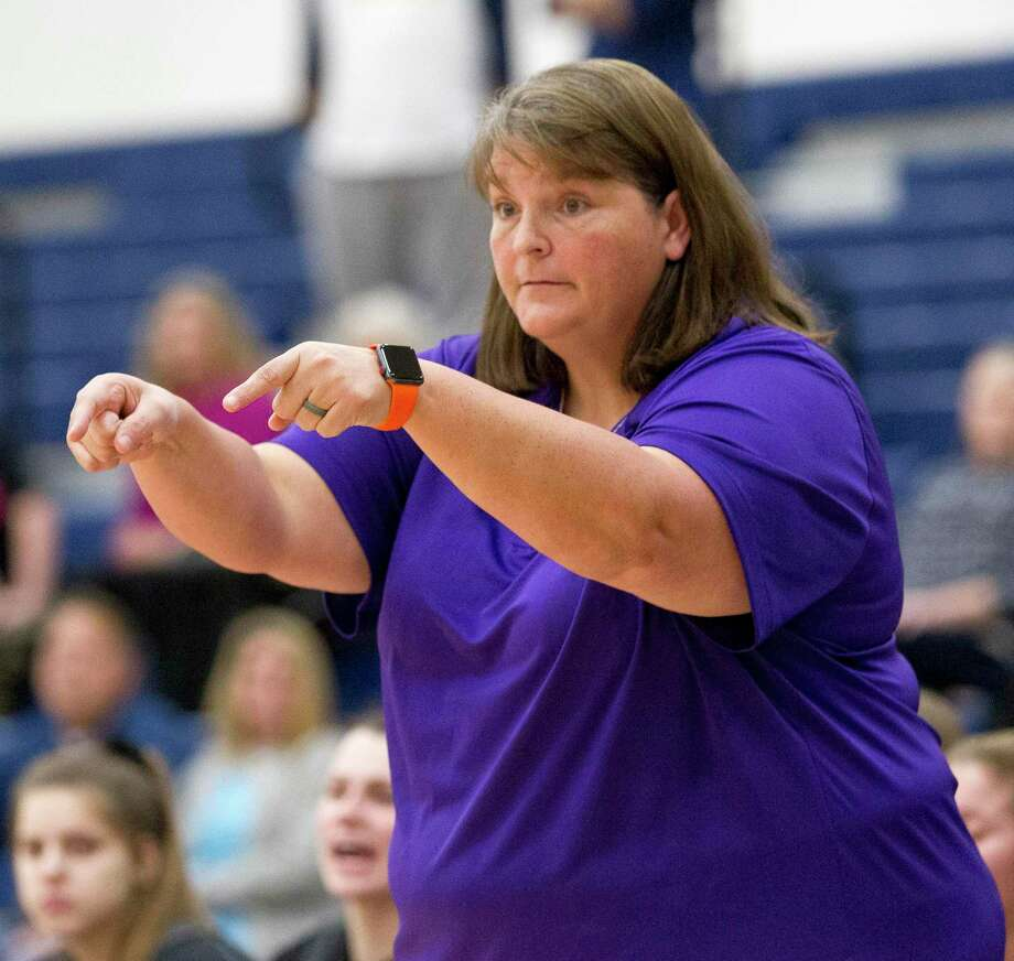 Willis head coach Angel Kelley, seen here two seasons ago, is leading the Ladykats into their first season in Class 6A. Photo: Jason Fochtman, Houston Chronicle / Staff Photographer / © 2018 Houston Chronicle