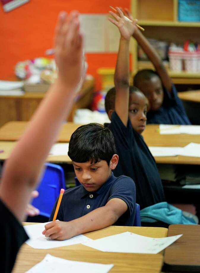 As math education has shifted toward problem solving from focusing on the basics, students seem to be moving away from liking math. Photo: Melissa Phillip /Staff Photographer / © 2019 Houston Chronicle