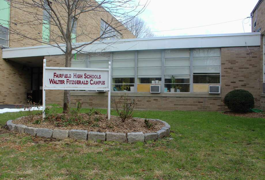 The Board of Education predicted costs for the purchase and renovation of a new building for the Walter Fitzgerald Campus. Photo: Laura Weiss / Hearst Connecticut Media / Fairfield Citizen