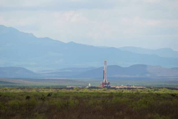 Houston's Apache Corp. drills for oil and gas near the Davis Mountains in West Texas. The Alpine High play in the Permian Basin has produced disappointing results for Apache, partly due to depressed natural gas prices.