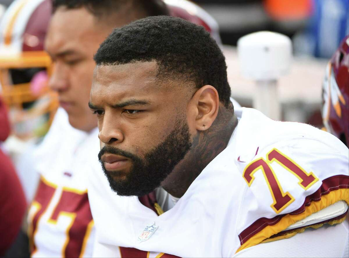 Washington offensive tackle Trent Williams has not played during the 2019 season.