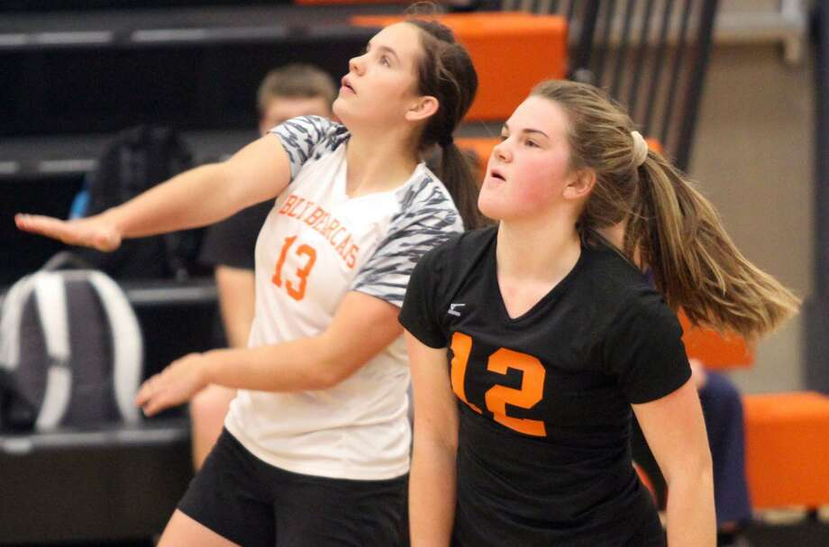 The Ubly varsity volleyball team beat visiting Marlette in straight sets, 25-20, 25-14, 25-15, on Tuesday night. Next up for the Bearcats is a districts match versus Deckerville at 6 p.m. Wednesday, Nov. 6, at North Huron. Photo: Tribune File Photo