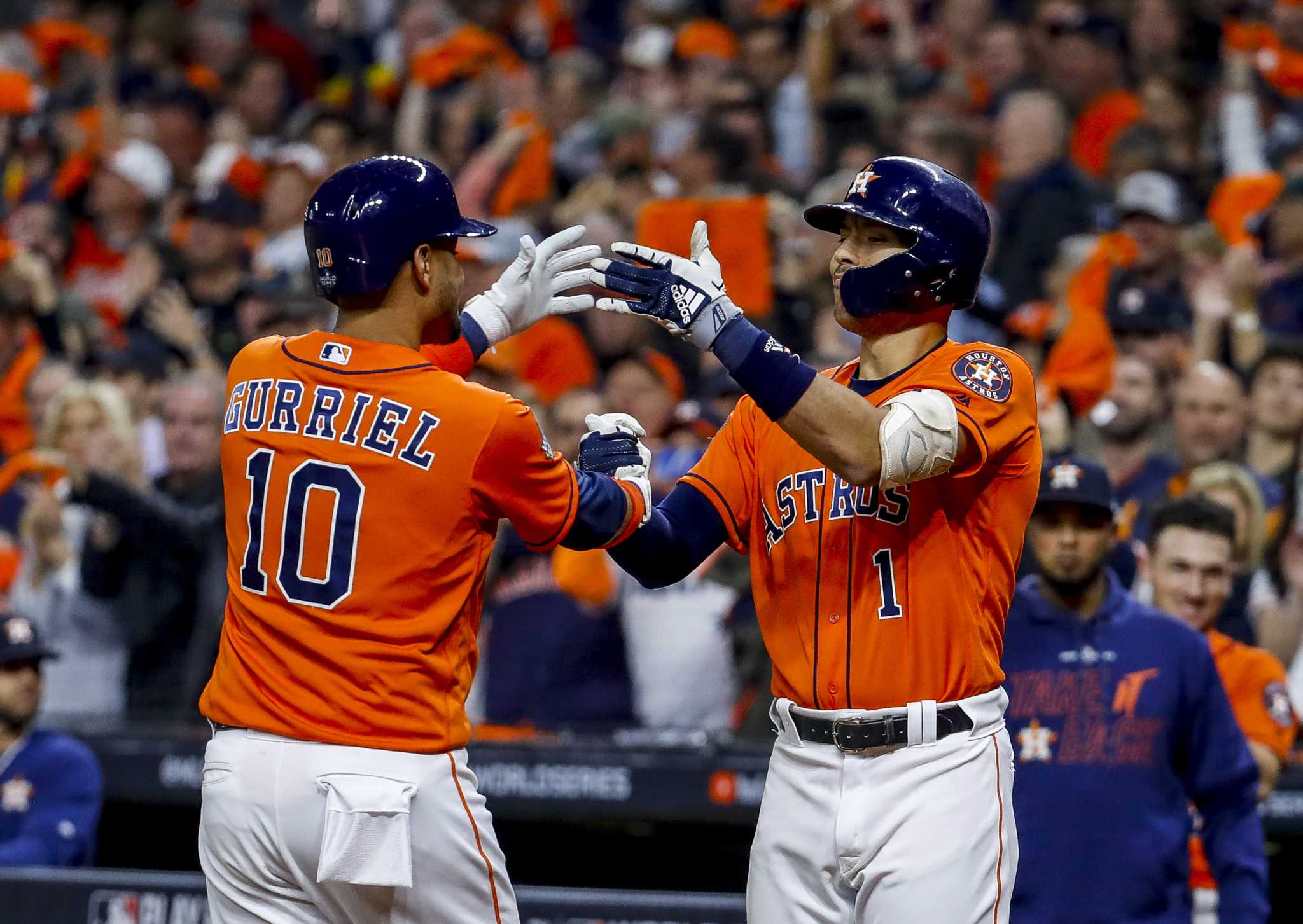 For Astros, a record-setting season's jarring end turns to promising future