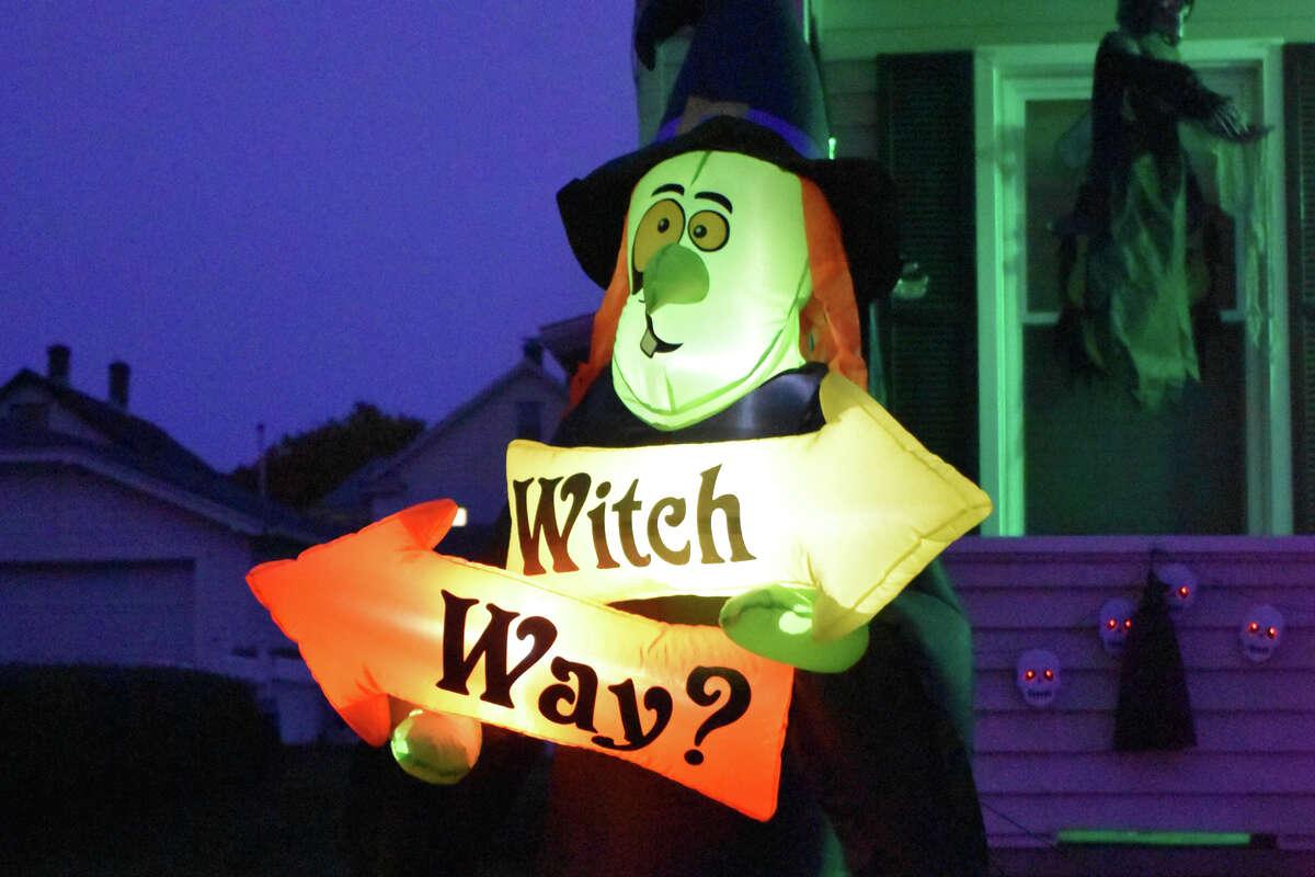 Halloween scenes in Torrington and Winsted October 2019.