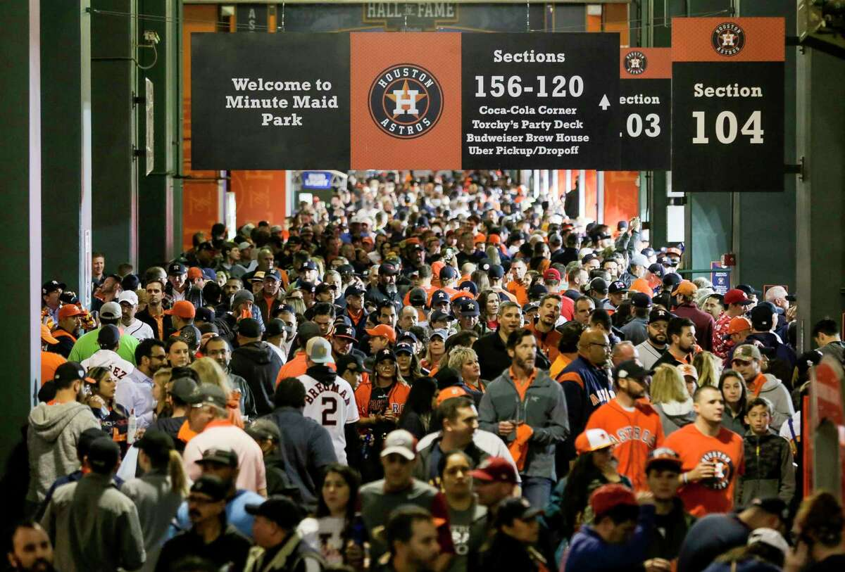 In addition to having a limited amount of fans at home games in 2021, the Astros also will return to their normal start times.
