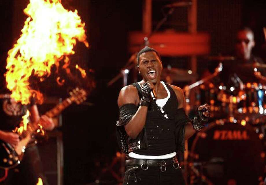 Jason Derulo performs at the Teen Choice Awards on Sunday, Aug. 8, 2010 in Universal City, Calif. (AP Photo/Matt Sayles) Photo: Matt Sayles, AP / AP 2010
