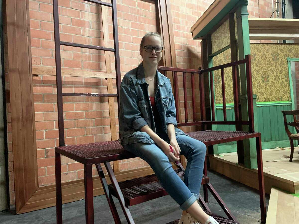 Kalin Menzel of Alvin learned while participating in theater at Pearland High School that she preferred being behind the scenes instead of performing onstage. Now she's stage manager and communications coordinator for 4thWall Theater Company, a professional group in Houston.