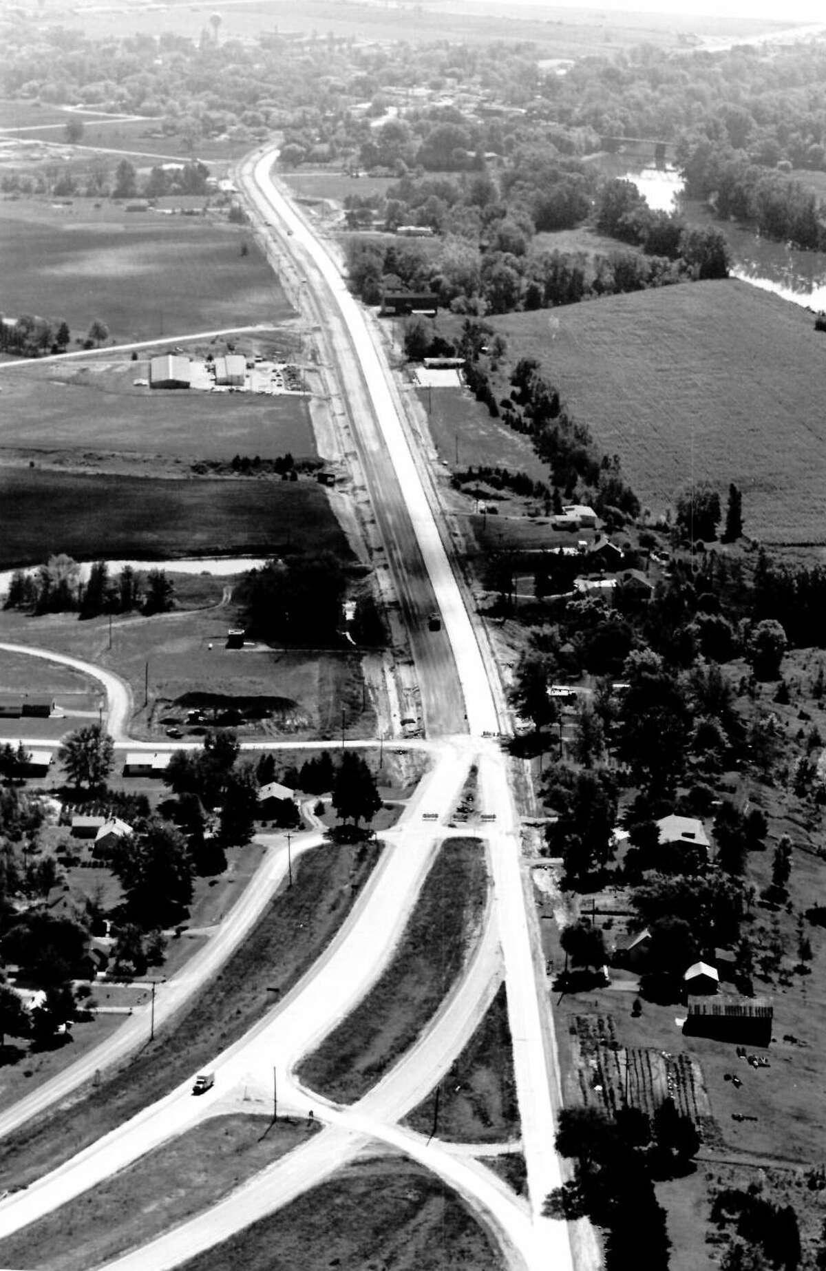 M-47 near Freeland. 1967