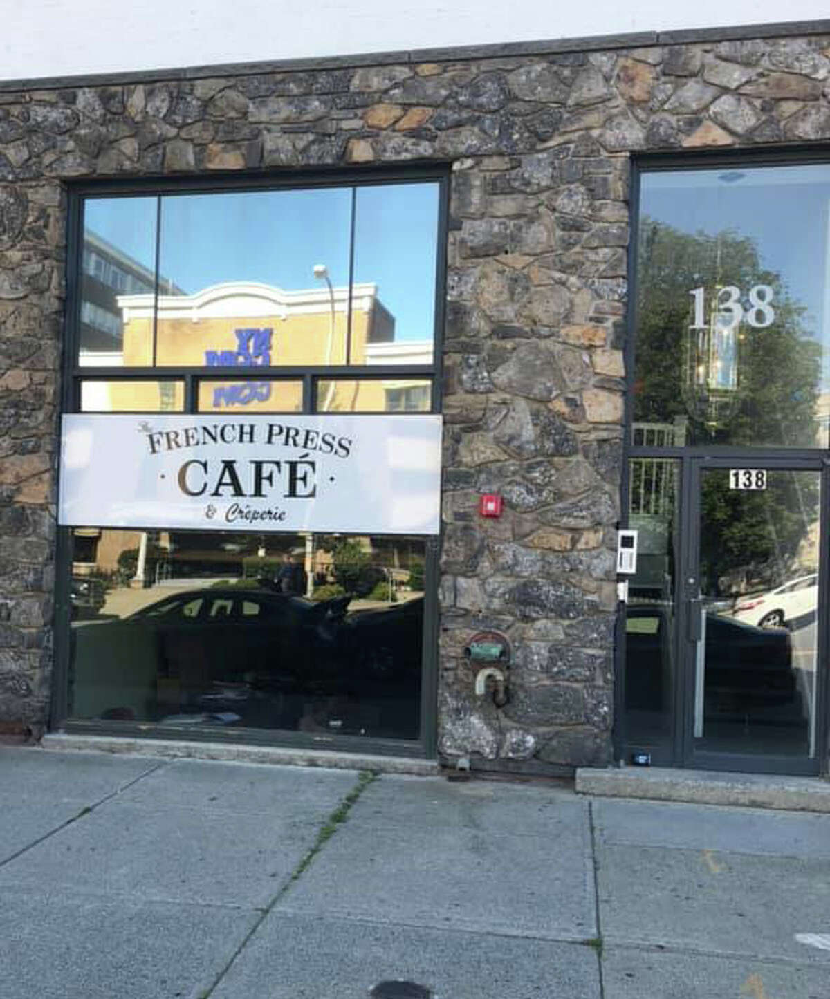 The new location of The French Press Cafe & Creperie at 138 Washington Ave. in Albany.