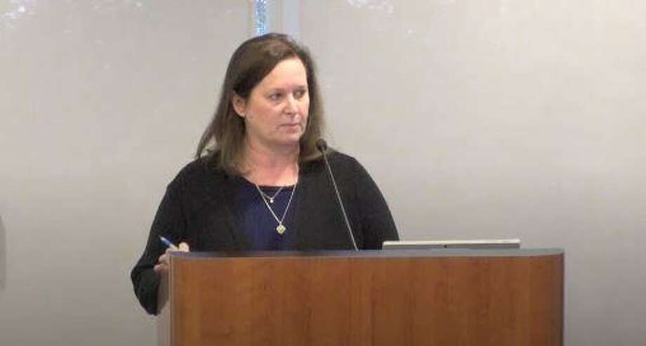 Monique Sharp, the assistant general manager for finance and administration, provided a prelimary COVID-18 budget task force report on May 21, telling directors there was positve news in regard to the township's revenue stream, including that $22.4 million of sales tax revenue had been collected through the end of April, an amount which is 44 percent of the expected yearly total officials had predicted. She also provided a lengthy report offering various scenarios of dealing with revenue losses. Photo: Image Courtesy The Woodlands Township / Image Courtesy The Woodlands Township