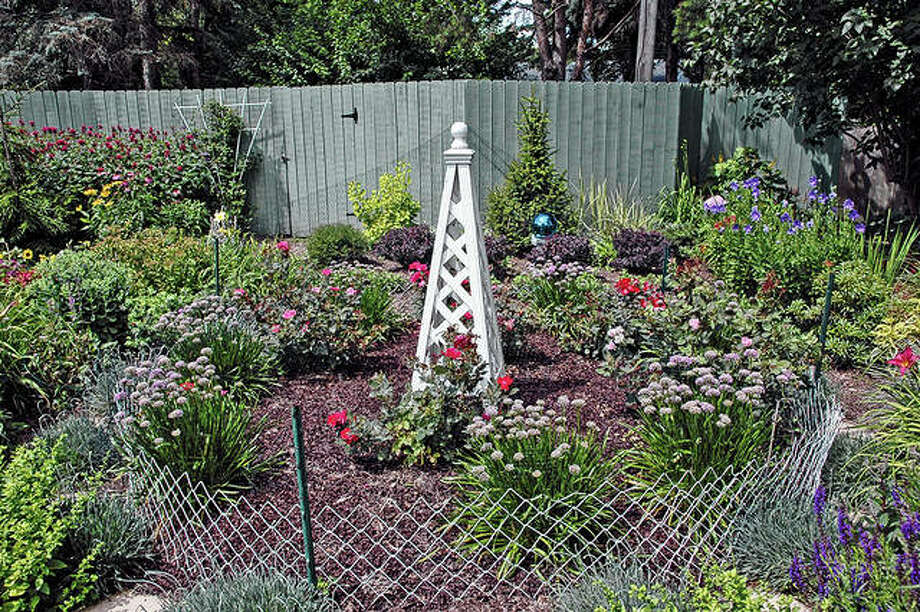 Fencing, when installed properly, can be an effective tool in protecting gardens against animal damage. Photo: Melinda Myers LLC