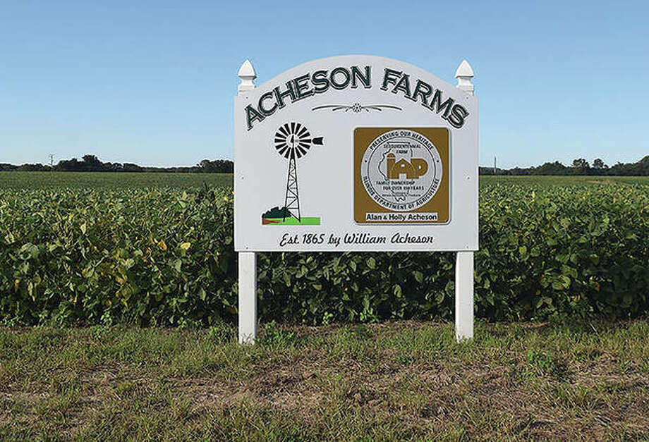 The sesquicentennial Acheson farm is owned now by Alan and Holly Acheson, the fifth generation of the family to operate it. Photo: Rochelle Eiselt | Journal-Courier