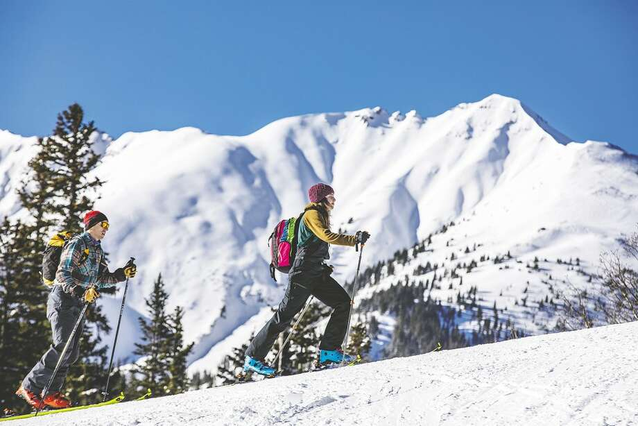 """Skinning"" uphill, seen here at Snowmass Village, was once a fringe activity. Today it is among the fastest-growing winter sports. Photo: Handout Photo By Matt Power/Aspen Skiing"