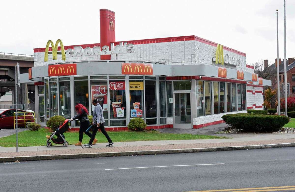 McDonald's on the corner of South Pearl and Madison Avenue on Thursday, Oct. 31, 2019 in Albany, N.Y. The lease is not being renewed. (Lori Van Buren/Times Union)