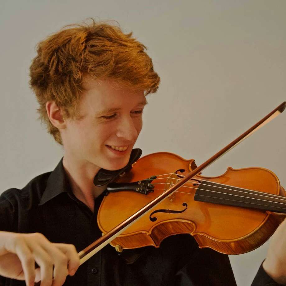 "Stratford teen prodigy Cameron Chase will perform the violin solo on Vivaldi's ""Winter and Summer"" from The Four Seasons at the Greater Bridgeport Symphony's holiday concert on December 21. Photo: GBS / Contributed Photo"