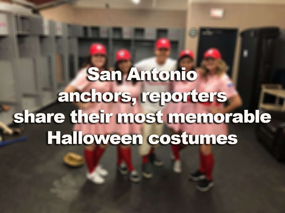 >>>Click through the slideshow to see anchors, reporters in their most memorable costumes>>>