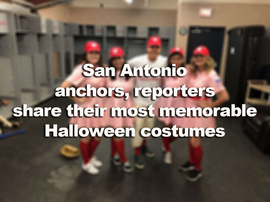 >>>Click through the slideshow to see anchors, reporters in their most memorable costumes>>> Photo: MySA Staff