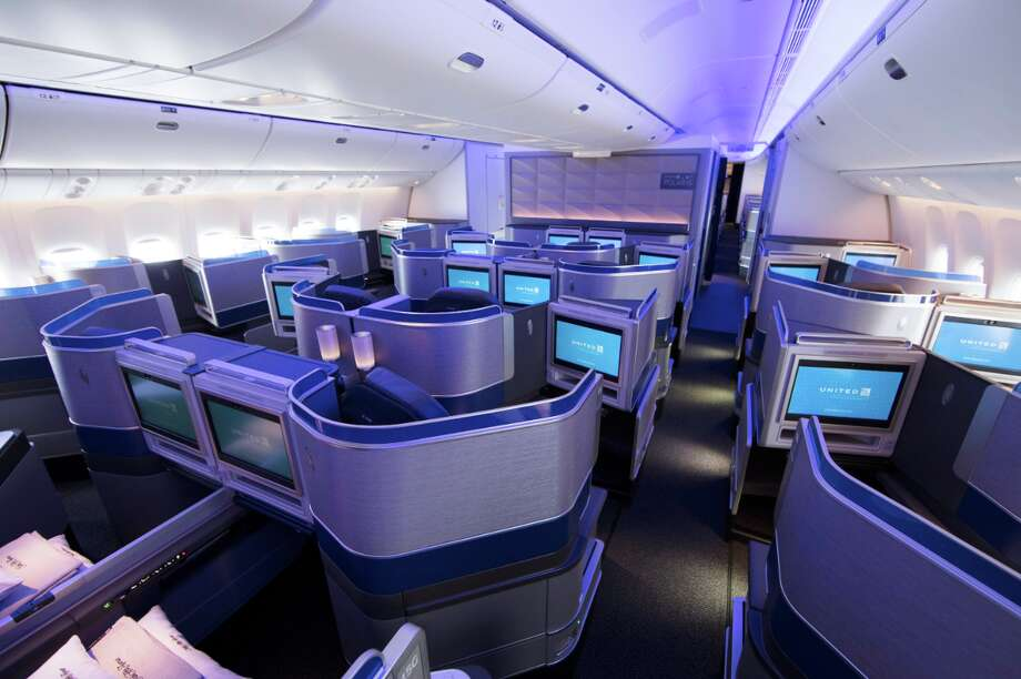 United's new Polaris business class seats and cabins took off in June 2016 and are now on 50% of its long haul fleet. Photo: United Airlines