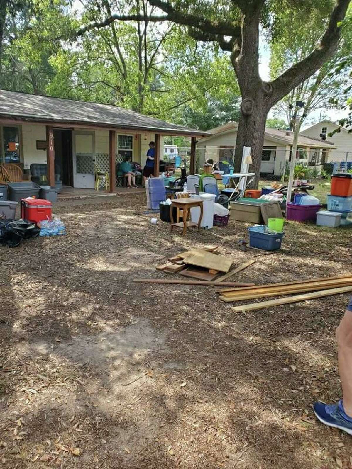 Katy volunteers, businesses and nonprofits join together to make Ann Zanfradino's house inhabitable two years after Hurricane Harvey